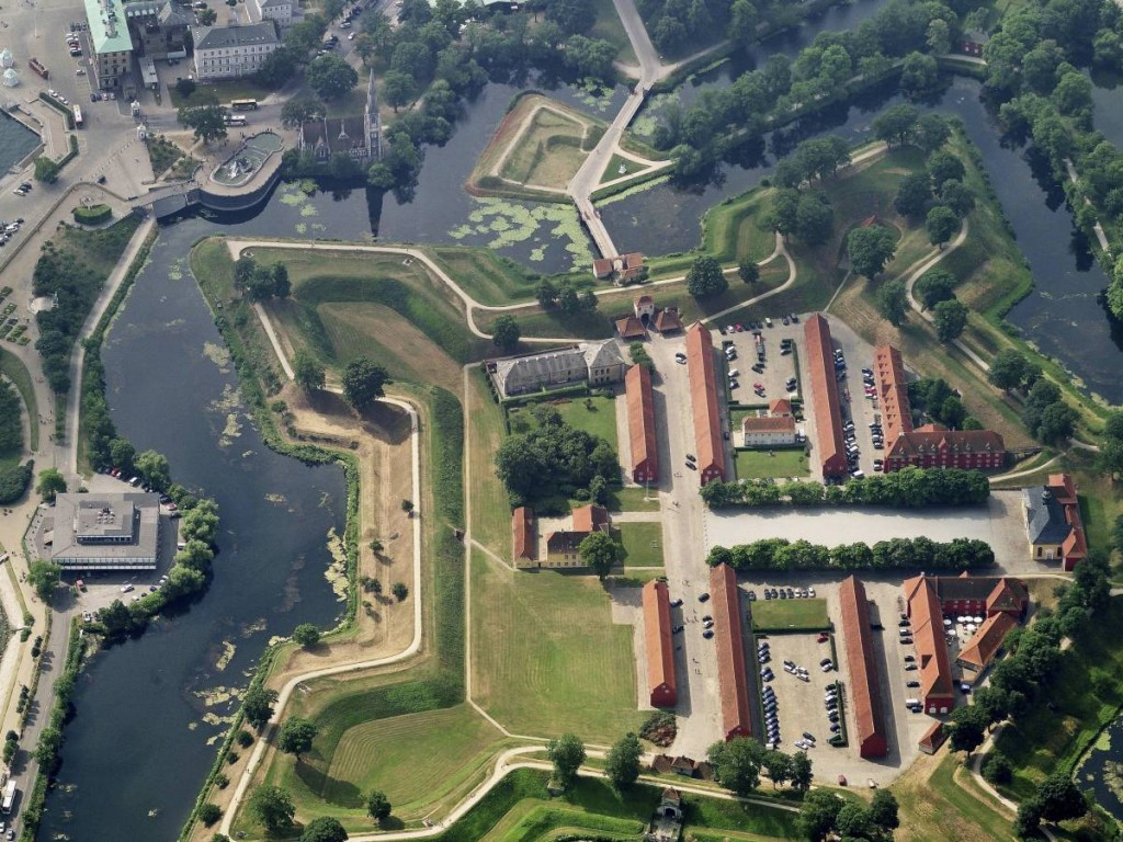 Above The Kastellet, Copenhagen, Denmark