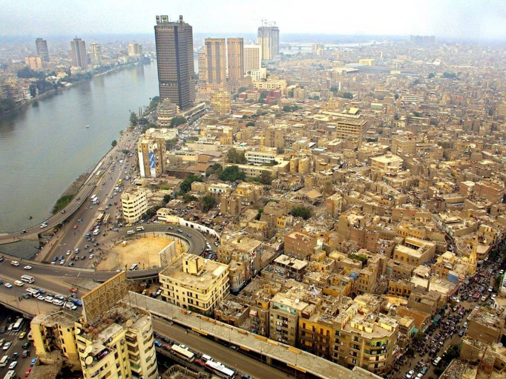 Above The Nile, Downtown Cairo, Egypt