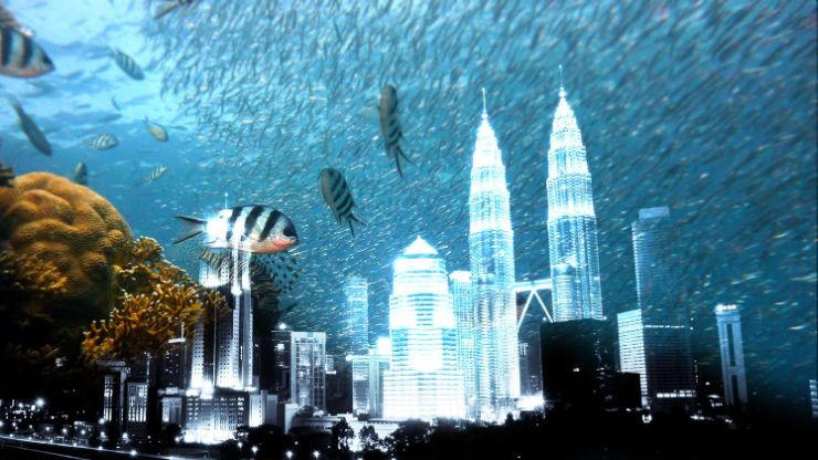 miestas po vandeniu