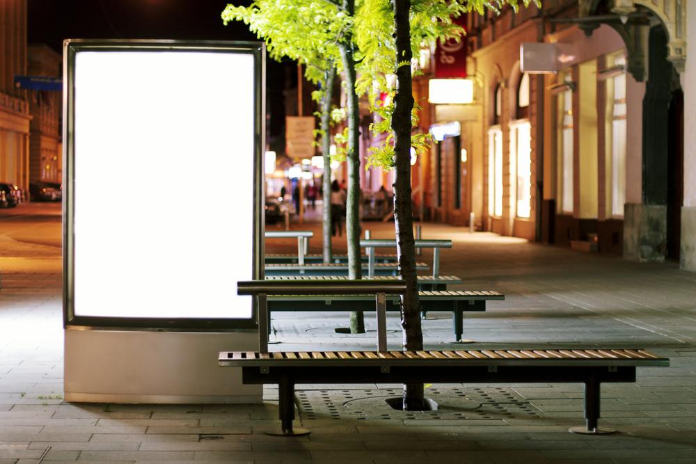stendai reklamai
