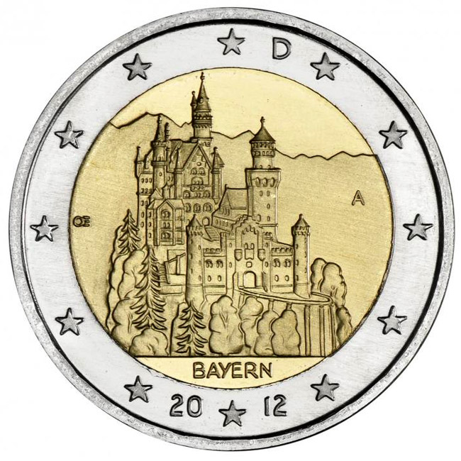Proginės 2 euro monetos